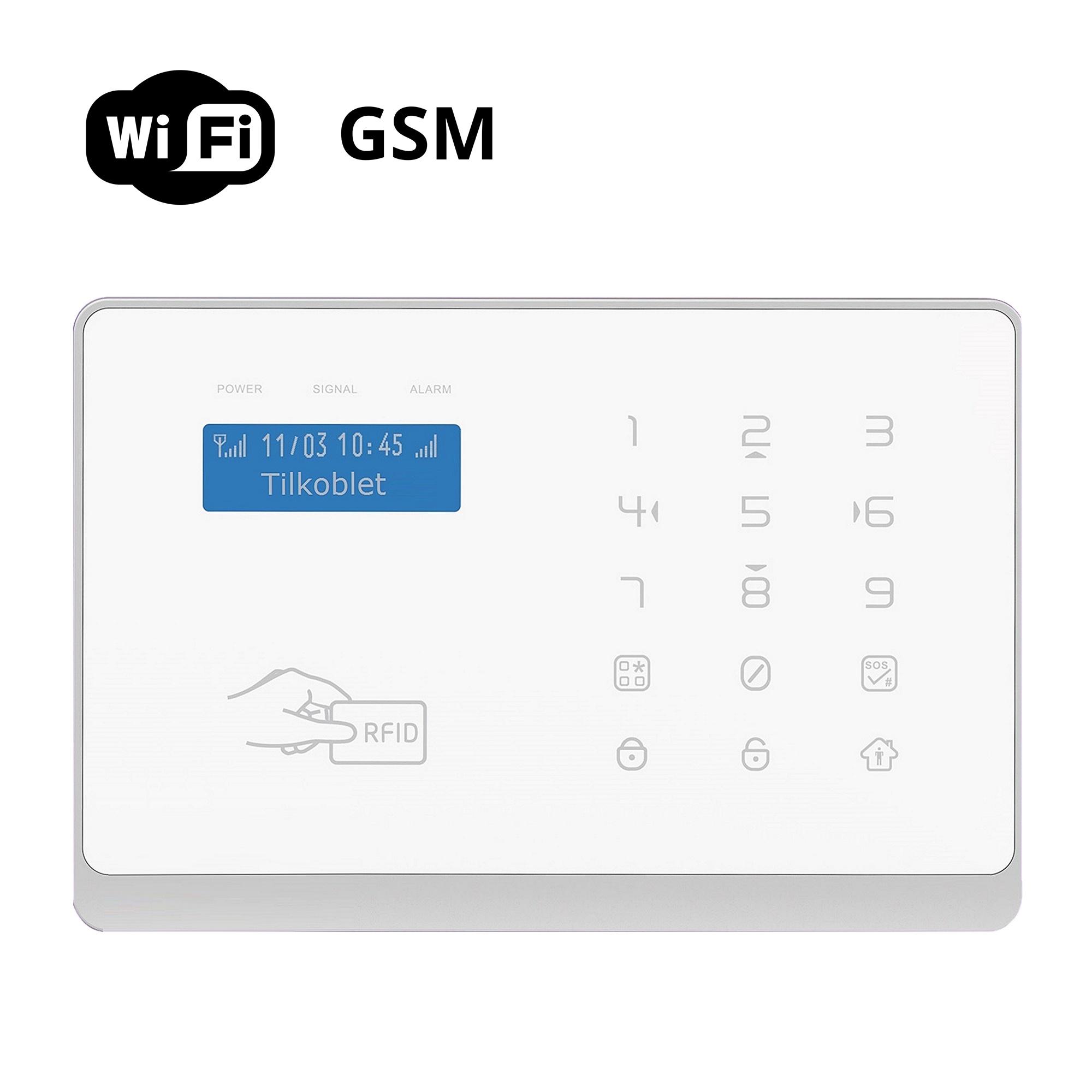 WiFi Deluxe alarmer