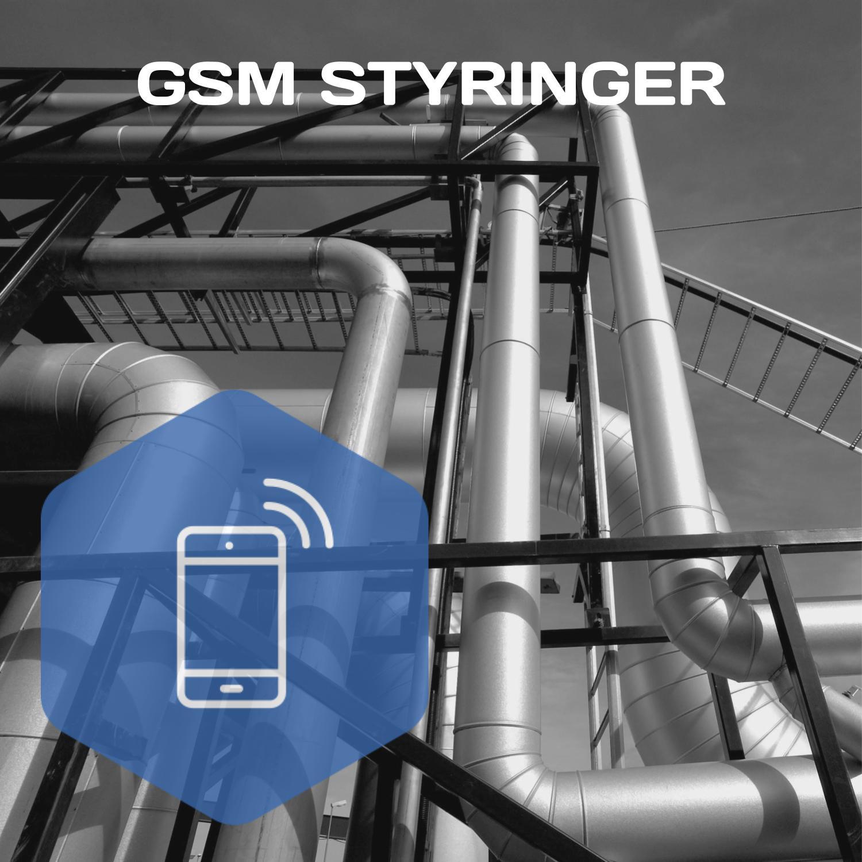 GSM styringer