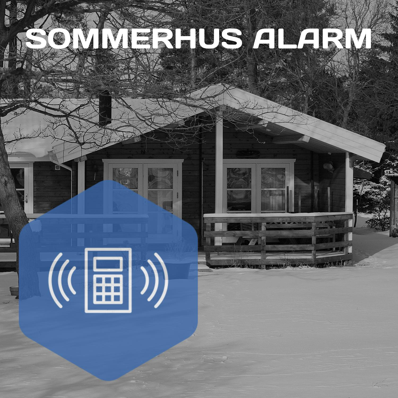 Sommerhus alarm