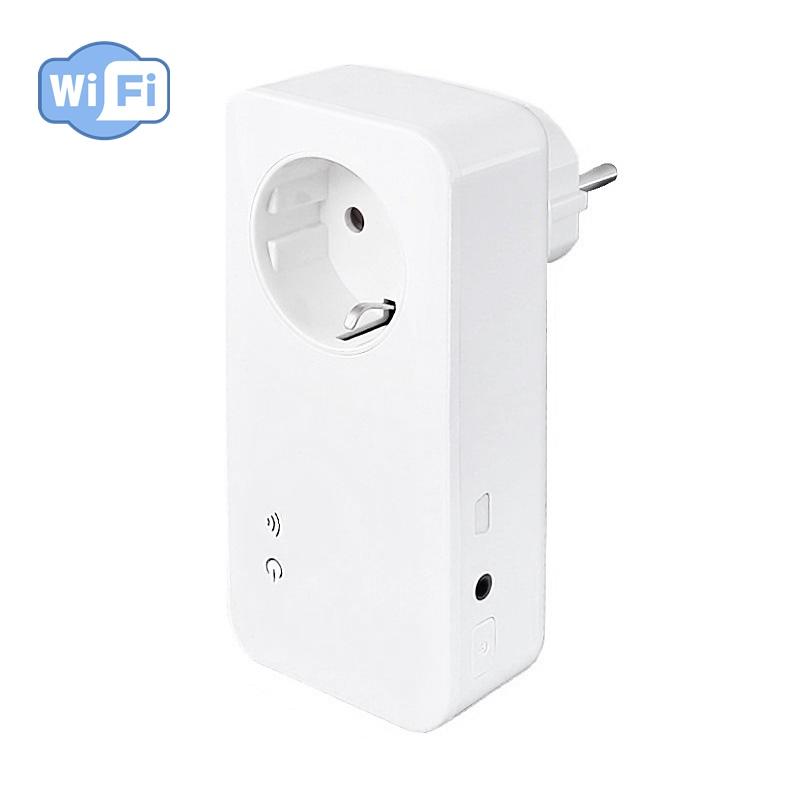 Enormt Wifi tænd og slukur med temperaturføler WC65