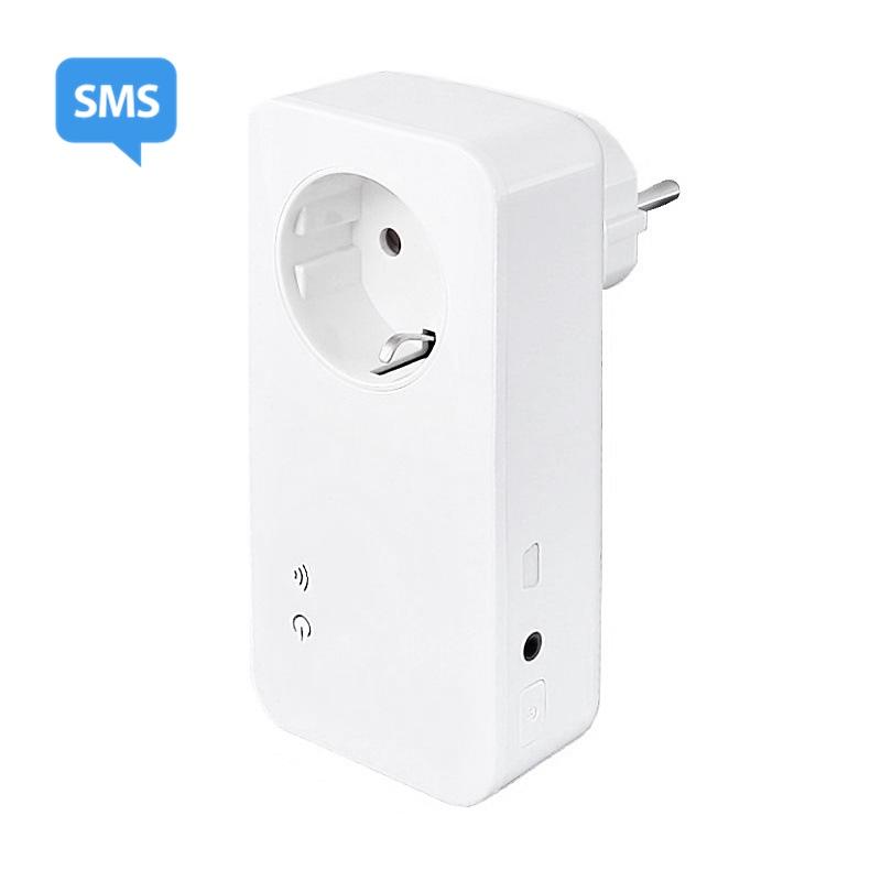 Utroligt GSM tænd og slukur med temperaturføler ny model WT93