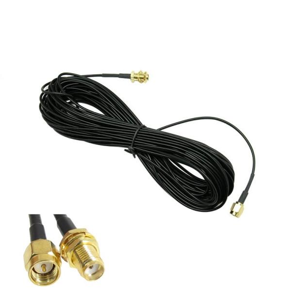 GSM antenne forlængerkabel Type 1 SMA-female til SMA-male 10m
