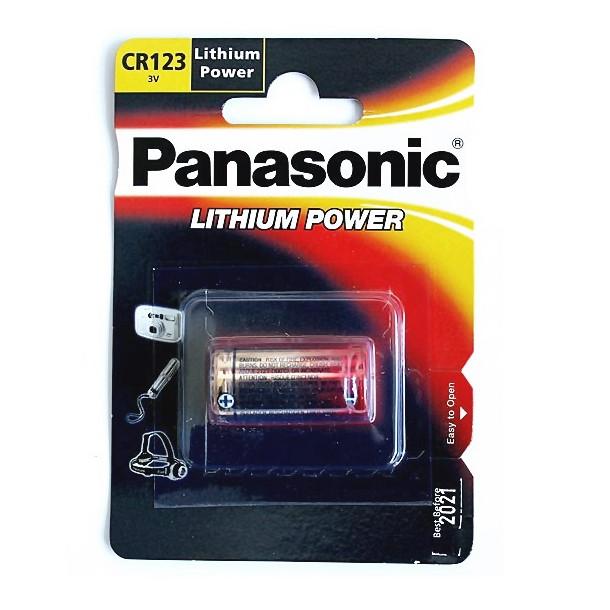 CR123 batteri