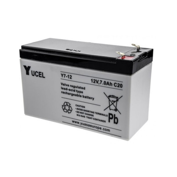 12V/7AH batteri til Focus PRO+ / AVA PRO