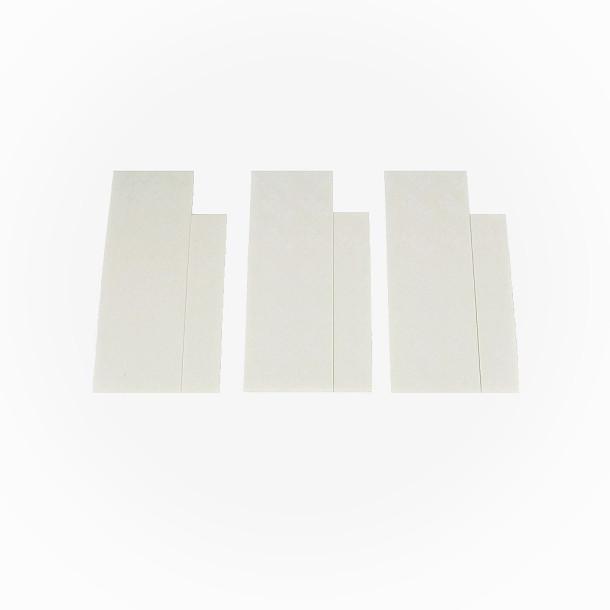 Dobbeltklæbende tape til magnetkontakter 3-pak
