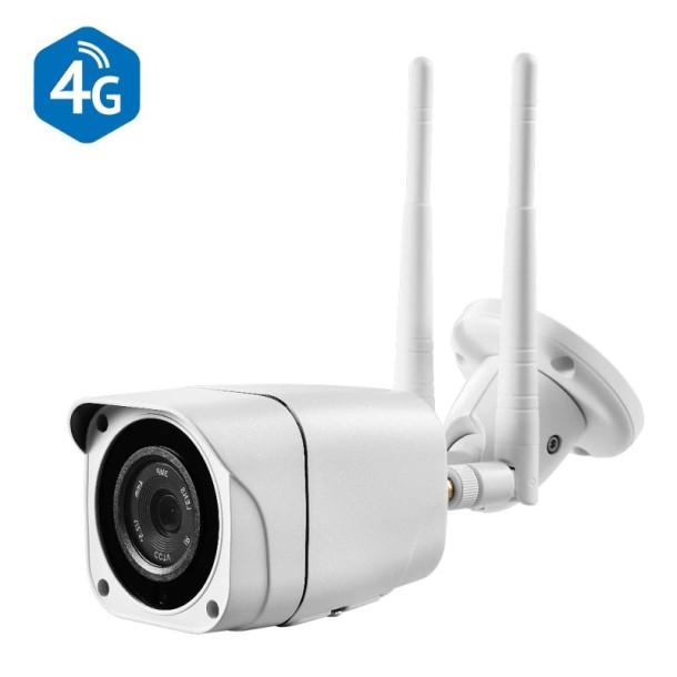 4G GSM udendørs mini kamera 2MP