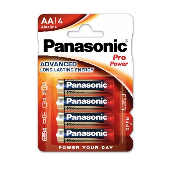 AA batterier 4-pak