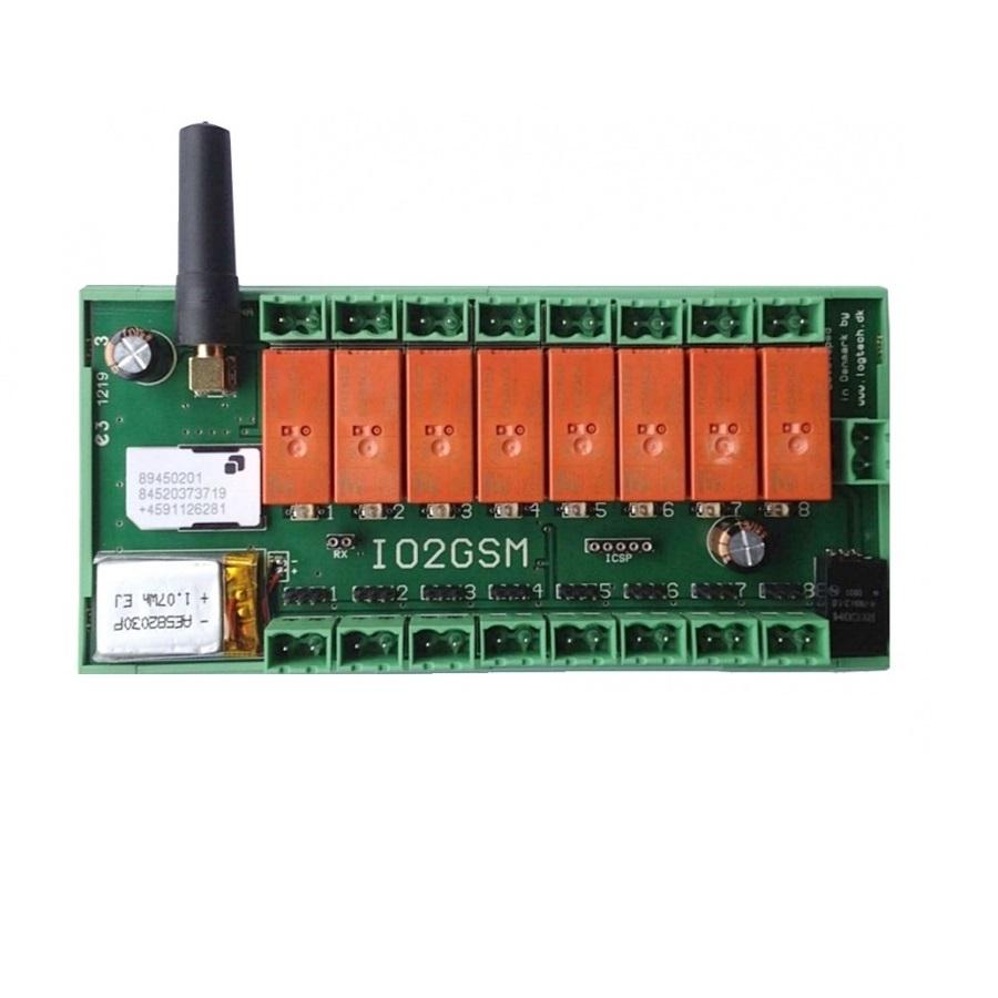 Logtech GSM styringer